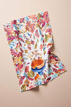 Anthropologie Pie Time Dish Towel