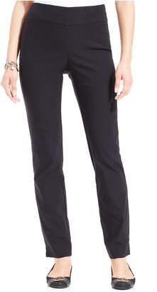 Charter Club Cambridge Tummy-Control Slim-Leg Pants, Created for Macy's $69.50 thestylecure.com