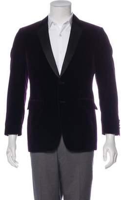 Burberry Velvet Tuxedo Jacket
