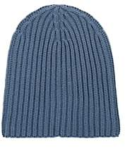 Loro Piana Men's Cashmere Beanie - Blue