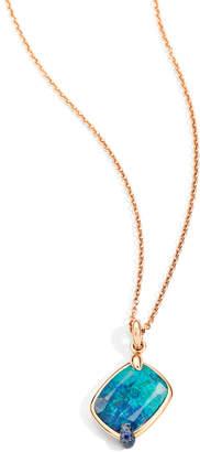 Pomellato Ritratto Chrysocolla Pendant Necklace