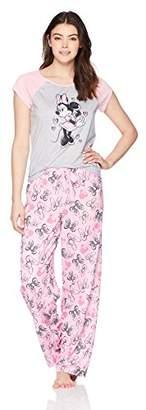 Disney Women's Little Mermaid Mommy and Me 2-Piece Pajama Set