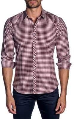 Jared Lang Plaid Button-Down Shirt