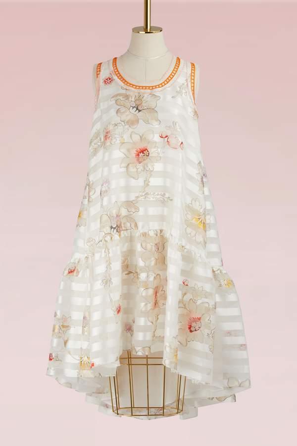 Fendi Silk midi dress