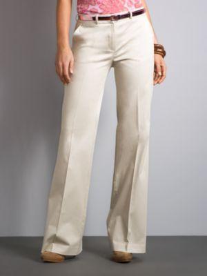 Beekman Summer Stretch Pant  - Khaki Petite