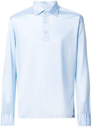 Kiton long sleeve polo shirt