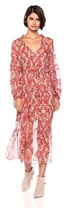 The Kooples Women's Women's Chili Pepper Print Maxi Dress