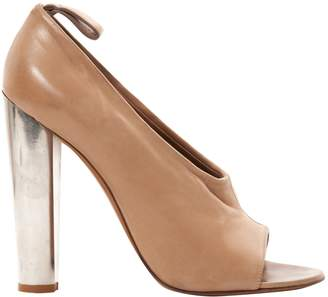 Celine Beige Leather Heels