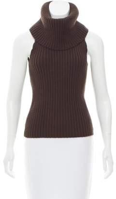 Michael Kors Cowl Neck Wool Top