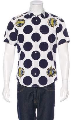 Kenzo Polka Dot Shirt