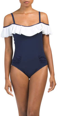 Tutti Frutti Ruffle One-piece Swimsuit