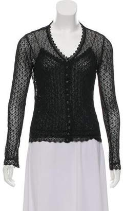 Christian Dior Lace Cardigan Set