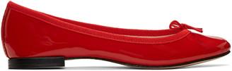 Repetto Red Cendrillon Ballerina Flats $295 thestylecure.com