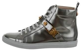 Versace Medusa Leather Sneakers