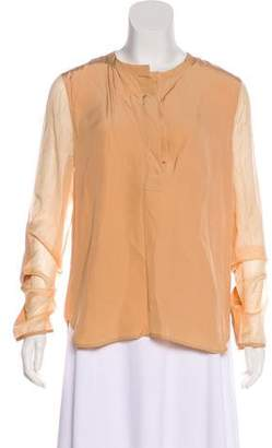 Reed Krakoff Long Sleeve Button-Up Top w/ Tags