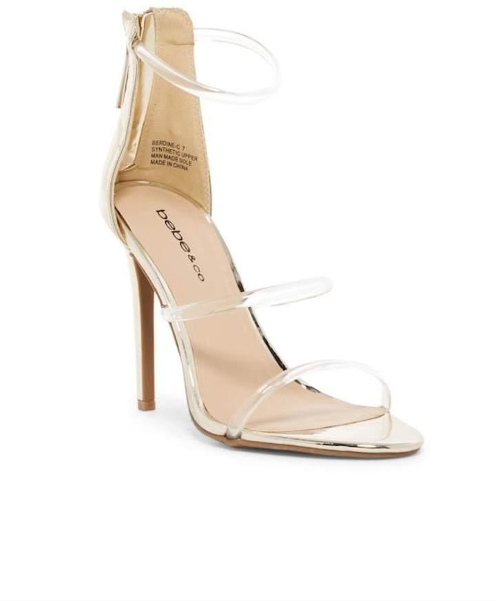 BEBE Berdine Heeled Sandal
