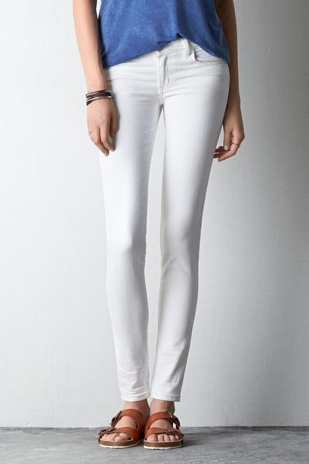 American Eagle Outfitters White Jegging Jeans
