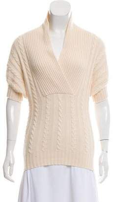 Stella McCartney Cashmere Short Sleeve Sweater