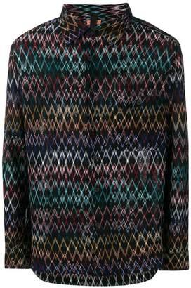 Missoni chevron-knit shirt