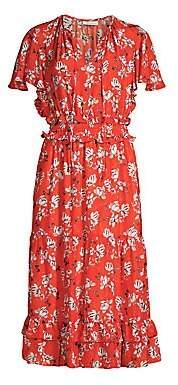 Shoshanna Women's Mercerie Floral Silk Dress - Size 0