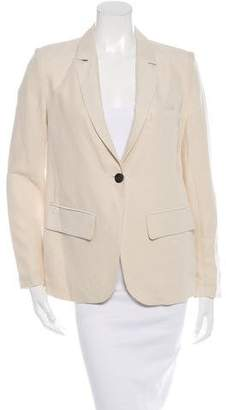Ulla Johnson Long Sleeve Notched Lapels Blazer