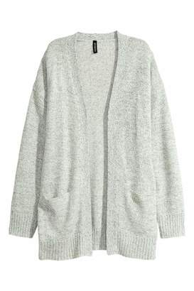 H&M Knit Cardigan - Natural white melange - Women