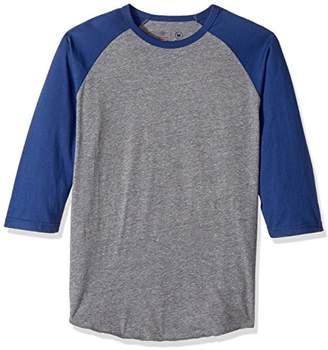 Brixton Men's Basic Tailored Fit 3/4 Sleeve Baseball Tee