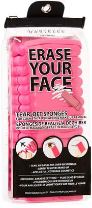 Upper Canada Erase Your Face Makeup Sponges, 60 Count, Pink