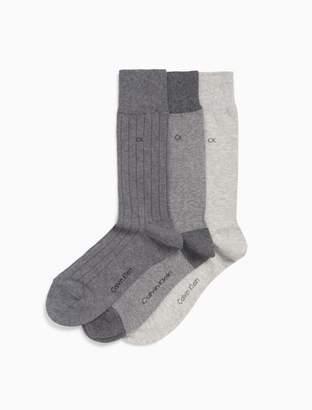 Calvin Klein 3-pack birdseye socks