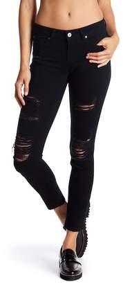 Soundgirl Destructed Skinny Jeans (Juniors)