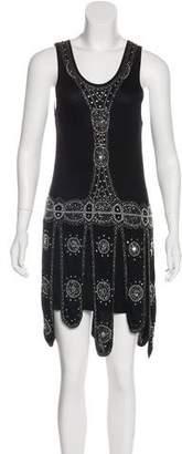 Gryphon Embellished Mini Dress