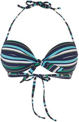 Oasis Napoli Stripe Bikini Top