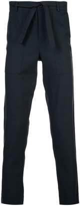 Stephan Schneider tie waist straight leg trousers