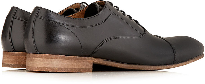 Hudson Shoes Hudson Black Oxford Lace Up Shoes