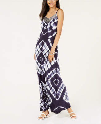 INC International Concepts I.n.c. Petite Tie-Dyed Maxi Dress, Created for Macy's