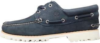 Timberland Mens Chilmark 3 Eye Hand Sewn Boat Shoes Navy