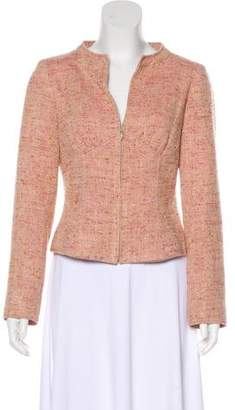 Valentino Silk & Wool-Blend Jacket