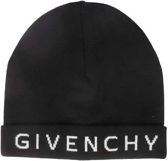 Givenchy Logo Knit Beanie
