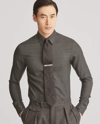 Ralph Lauren Houndstooth Cashmere Shirt