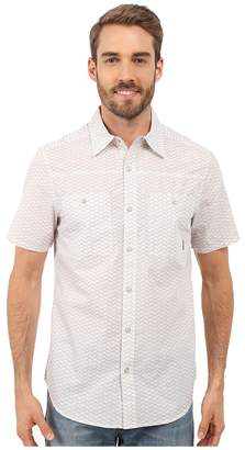 Merrell Palm Rope Print Shirt Men's Short Sleeve Button Up