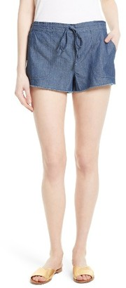 Women's Soft Joie Kalpana Chambray Shorts $148 thestylecure.com