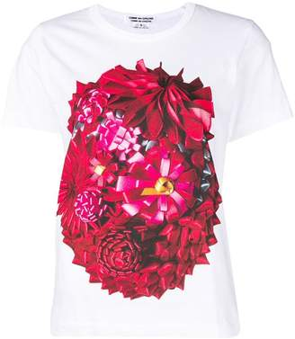 Comme des Garcons floral print T-shirt