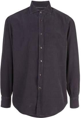 Brunello Cucinelli velour shirt