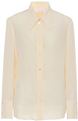 Chloé Silk crepe blouse