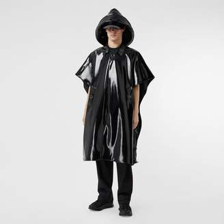 Burberry Vinyl Belted Cape