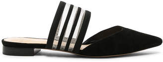 Alexandre Birman Shadow Flats in Black | FWRD