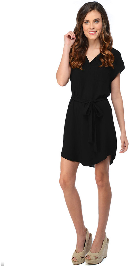 Splendid Short Sleeve Shirt Dress
