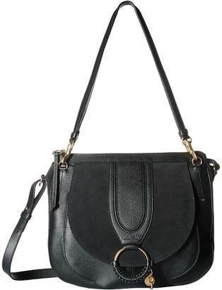 See by Chloe Hana Large Suede Leather Tote