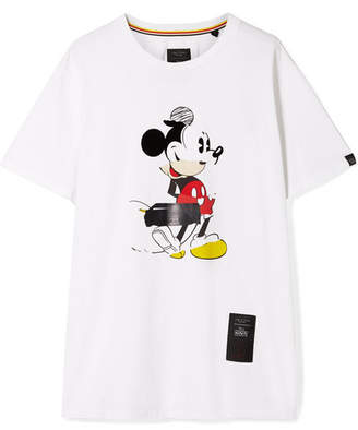 Rag & Bone Disney Oversized Printed Cotton-jersey T-shirt - White