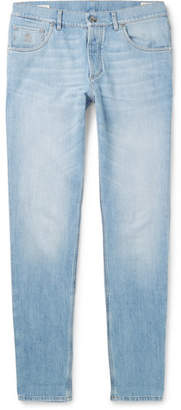 Brunello Cucinelli Slim-Fit Denim Jeans - Light blue